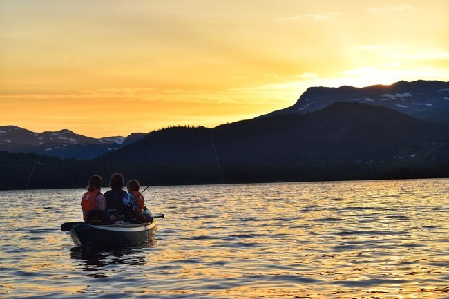 Guided Evening Canoe Tour
