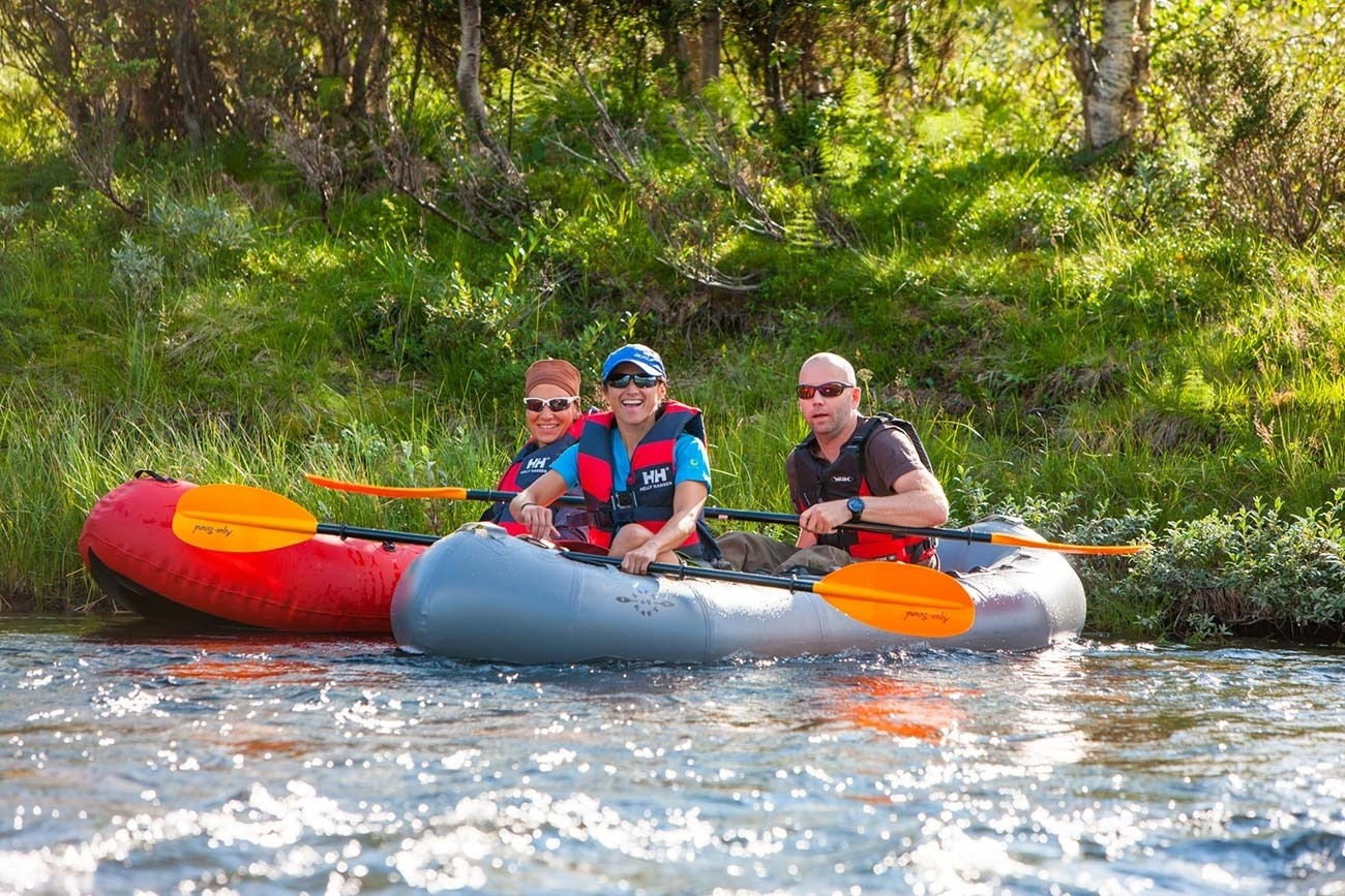 Pack-rafting / Beito Husky Tours