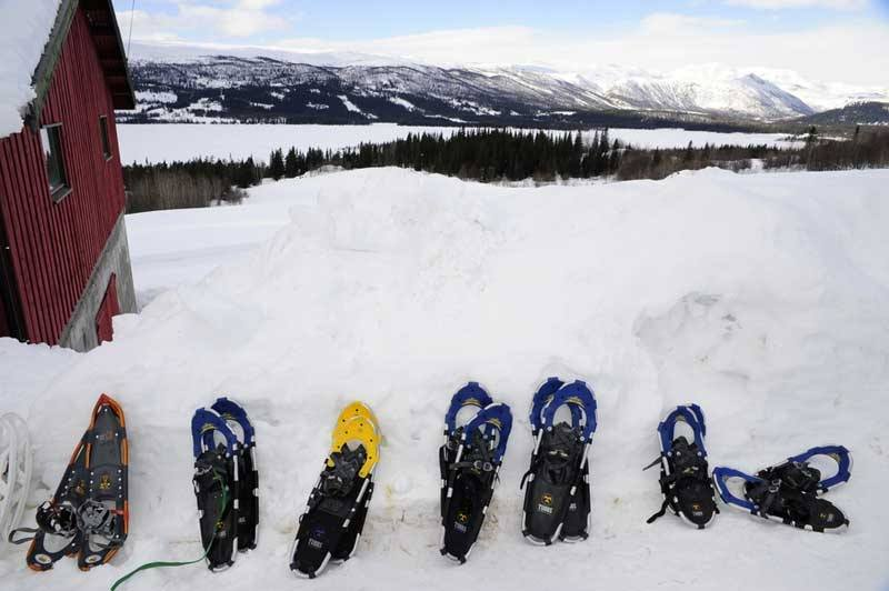 Snow shoes. Equipment | Beito Husky Tours