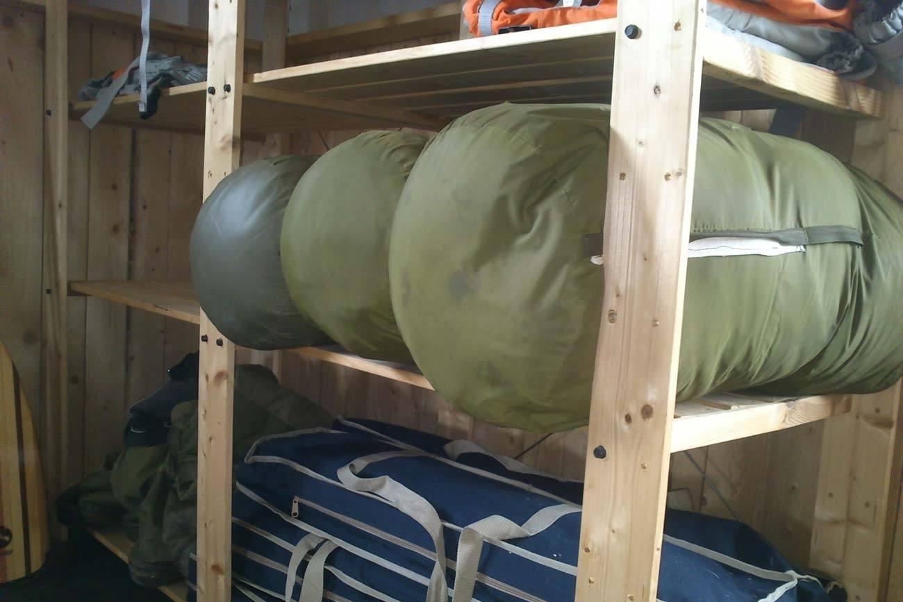 winter sleeping bags renting in Norway
