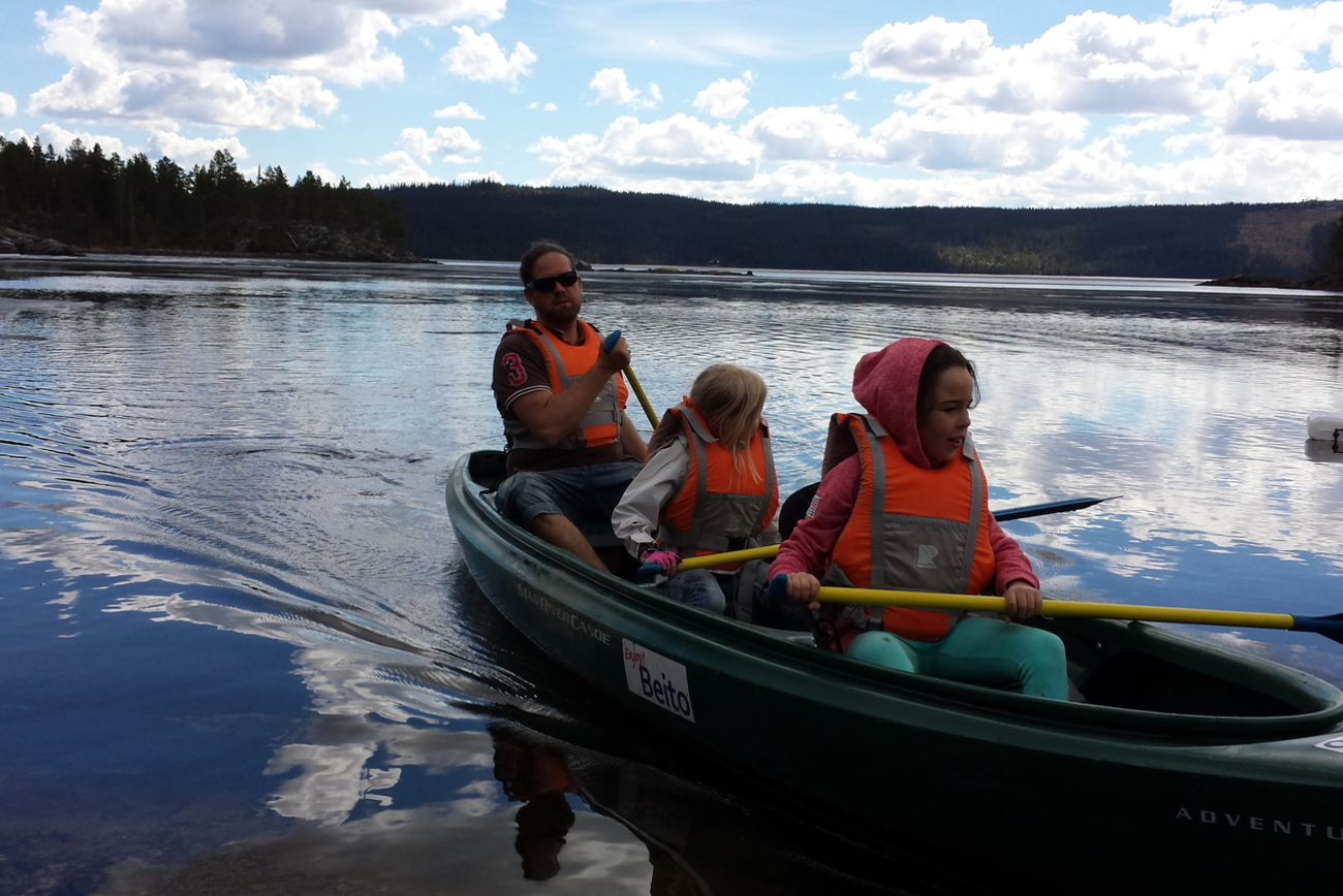 Summer water activities in Norway | Beito Husky Tours