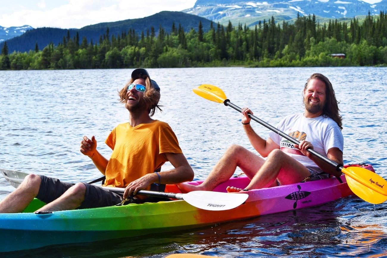 Kayak rental Beitostølen  | Beito Husky Tours