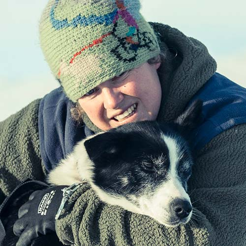 Rebecca Armitage guide in beito Husky Tours
